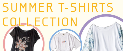 SUMMER T-SHIRTS COLLECTION